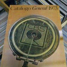 Revistas de música: CATALOGO DISCOS CBS 1973 MAS SUPLEMENTO ANEXO ENERO JUNIO . Lote 34481423