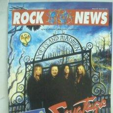 Revistas de música: ROCK NEWS Nº22 POSTERS DORO DIMMU MORGIR. Lote 60777210