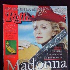 Revistas de música: REVISTA ROLLING STONE, EDICIÓN ESPAÑOLA, OCTUBRE 2000 - MADONNA ESTÁ COMO NUNCA. Lote 34680446