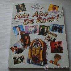 Revistas de música: MAGAZIN FIESTA TOTAL, UN AÑO DE ROCK, EDIT. ERISA 1988, NUEVO, COMPLETO 160 PAGINAS. Lote 34724777