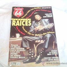 Revistas de música: RUTA 66 Nº 148. ESPECIAL RAICES. ENTREVISTA A JOHN LEE HOOKER. GUÍA NEO-ROTS. Lote 104096600