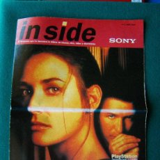 Riviste di musica: IN SIDE-Nº 1-EL MAGAZINE QUE TE DESCUBRE LO ULTIMO EN MUSICA CINE VIDEO ELECTRONICA-SONY-1996.. Lote 34972115