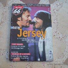 Revistas de música: RUTA 66 Nº 162, NEW JERSEY BOYS, BRUCE SPRINGSTEEN, TERRY CALLIER, SABINO MENDEZ. Lote 194680180