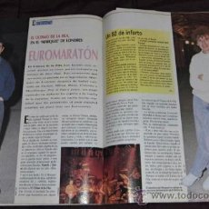 Revistas de música: EL GRAN MUSICAL ULTIMO DE LA FILA 1992 ESPAÑA GABINETE CALIGARI POSTER. Lote 35065516
