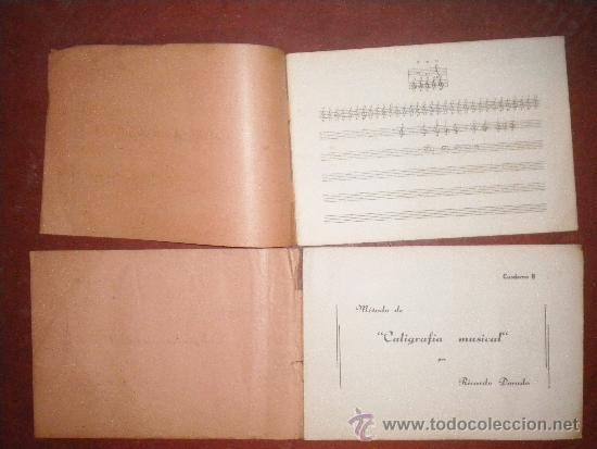 Revistas de música: Metodo de caligrafia musical por Ricardo Dorado Cauderno A y B - Foto 3 - 35388688