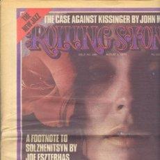 Revistas de música: REVISTA ROLLING STONE Nº 166 AGOSTO 1, 1974 EDICIÓN INGLESA ORIGINAL.. Lote 35472934
