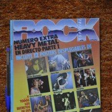Revistas de música: ROCK ESPEZIAL EXTRA NÚM. 6 - 12 POSTERS HEAVY - MOTORHEAD, AC/DC, IRON MAIDEN, AEROSMITH,.... Lote 35630735