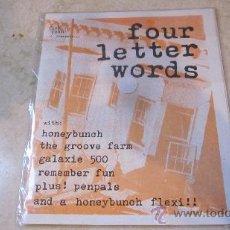 Revistas de música: FANZINE FOUR LETTER WORDS - CON HONEYBUNCH, THE GROOVE FARM, GALAXIE 500, ETC. Lote 35664349
