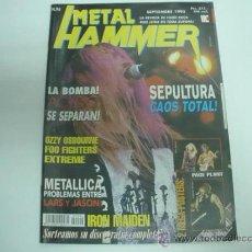 Revistas de música: METAL HAMMER Nº94 09/1995 AC/DC POSTER GIGANTE BON JOVI PAGE PLANT. Lote 35783493