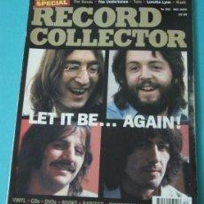 Revistas de música: RECORD COLLECTION. BEATLES SPECIAL. PINK FLOYD, QUEEN, ROBERT PLANT. Nº 292 DEC. 2003. Lote 35940530