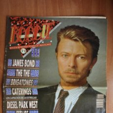 Revistas de música: REVISTA BOOGIE - 19 - DAVID BOWIE, BRIGATONES, FEELIES, DIESEL PARK WEST, JAMES BOND. Lote 36243629