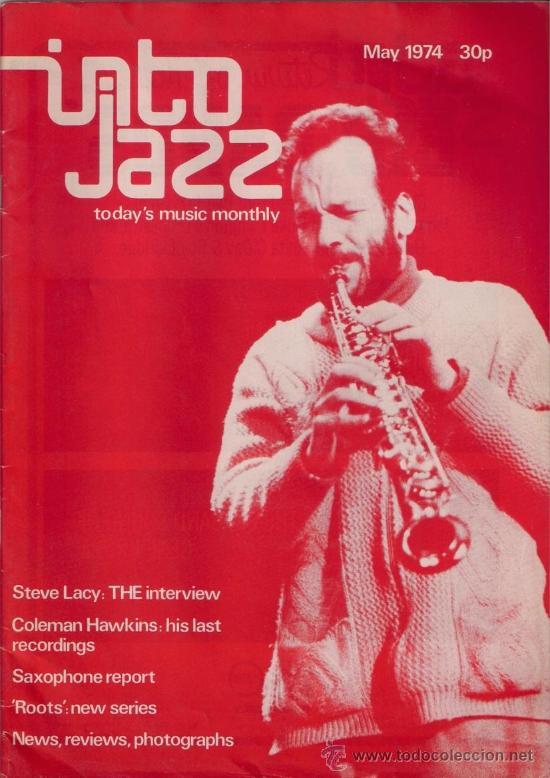 REVISTA INTO JAZZ - TODAY'S MUSIC MONTHLY - VOL 1 Nº 4 MAYO 1974 EDICIÓN INGLESA ORIGINAL (Música - Revistas, Manuales y Cursos)