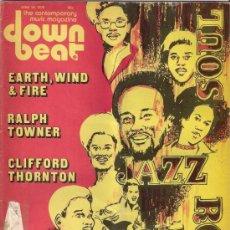 Revistas de música: DOWN BEAT. THE CONTEMPORARY MUSIC MAGAZINE. VOL. 42 NO. 12 -- 19 JUNIO 1975 - EDICIÓN AMERICANA. Lote 36361293