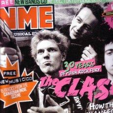 Revistas de música: NME REVISTA IMPORTACION THE CLASH 30 AÑOS NUMERO 19 MAYO 2007 PUNK ROCK. Lote 36413937
