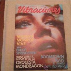 Revistas de música: VIBRACIONES Nº 74. Lote 36529600