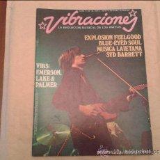 Revistas de música: VIBRACIONES Nº 31. Lote 36529617