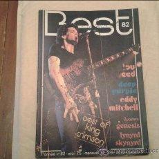 Revistas de música: BEST Nº 82. Lote 36529798