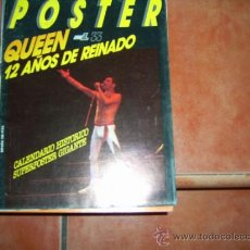 Revistas de música: POPULAR 1 POSTER Nº 33, QUEEN 12 AÑOS DE REINADO, 1973. Lote 183703113