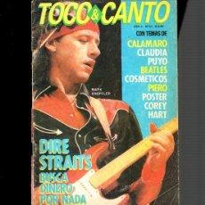 Revistas de música: DIRE STRAITS: RARISIMO CANCIONERO CON TABLATURAS DE CANCIONES DE ARGENTINA-COLECCIONISTAS. Lote 36587991