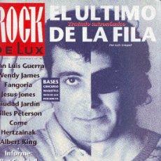 Revistas de música: ROCK DE LUX -Nº 95- 1993- EL ULTIMO DE LA FILA EN PORTADA - MANOLO GARCIA. Lote 36761189