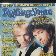 Revistas de música: BOB DYLAN, ROLLING STONE / MAGAZINE ISSUE 478 / 479 JULY 17, 1986 !! 153 PAG. DOBLE NUMERO !!!!!!!!!. Lote 36768152