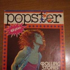Revistas de música: POPSTER Nº 23 PRIMERA EDICION 1979. Lote 36812249