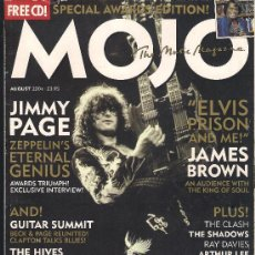 Revistas de música: MOJO 129 AUGUST 2004 - JIMMY PAGE, JAMES BROWN , HIVES..... Lote 161789405