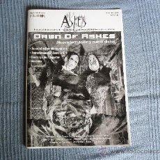 Revistas de música: FANZINE ASHES Nº 1 2008 ELECTRO GOTHIC. Lote 36415209