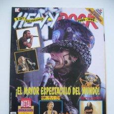 Revistas de música: HEAVY ROCK. N.131. AÑO 1994. PORTADA: AEROSMITH.+ POSTER: PANTERA Y BRUCE DICKINSON.. Lote 268118374