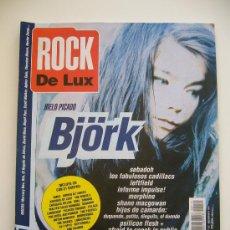 Revistas de música: ROCK DE LUX N. 121. AÑO 1995. BJÖRK. LOLA FLORES. FOO FIGHTERS. RADIOHEAD. MORPHINE. Lote 37206692