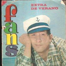 Revistas de música: FANS EXTRA VERANO 1966. Lote 37779845