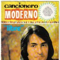 Riviste di musica: CANCIONERO MODERNO NINO BRAVO - LIBRE,MI TIERRA,PUERTA DE AMOR,TE ACUERDAS MARIA. Lote 37794586
