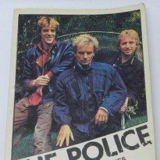 Revistas de música: THE POLICE IMAGENES Y CANCIONES, ED. YESTERDAY, TIRADA DE 2.000 EJEMPLARES, 98 PAG. CON ILUSTRACIONE. Lote 37894589