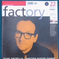 Revistas de música: REVISTA FACTORY – NÚMERO 22 – ABRIL-JUNIO 1999 – INCLUYE CD. Lote 37897838