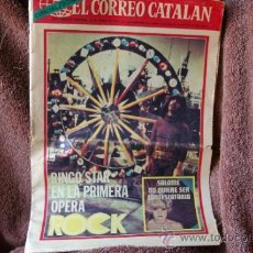 Revistas de música: RINGO STAR EL EX THE BEATLES PORTADA DE CORREO CATALAN JUNIO DE 1971. Lote 37979554