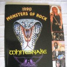 Revistas de música: MONSTERS OF ROCK 1990 PROGRAMA DE GIRA TOUR BOOK TOURBOOK. Lote 38136767