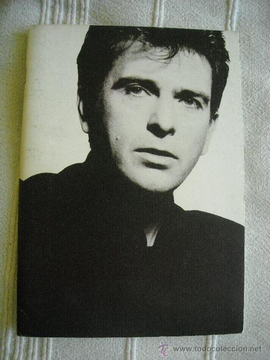 PETER GABRIEL SO 1987 PROGRAMA DE GIRA TOUR BOOK TOURBOOK (Música - Revistas, Manuales y Cursos)