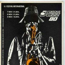 Revistas de música: REVISTA X FESTIVAL INTERNACIONAL DE JAZZ DE CASCAIS - NOVIEMBRE 1980. Lote 38323196