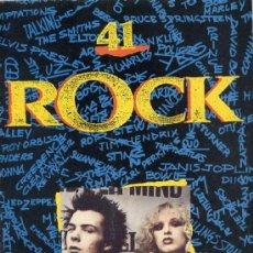 Revistas de música: FASCICULO ROCK Nº 41 PLANETA-AGOSTINI 1991. Lote 38366768