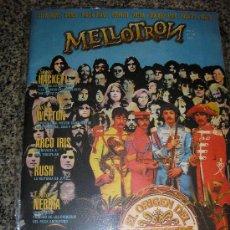Revistas de música: REVISTA LIBRO MELLOTRON Nº 20 (CAMEL/RUSH/YES/GENESIS/BEATLES/HOWE/PAGE/BRUFORD) ARGENTINA/ RARO. Lote 38438926