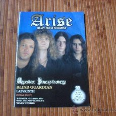 Revistas de música: ARISE METAL MAGAZINE Nº 23 2003 MYSTIC PROPHECY. Lote 38600616