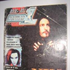 Revistas de música: POPULAR 1 Nº305 MARILYN MANSON . Lote 38613665