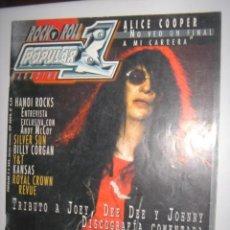 Revistas de música: REVISTA DE MUSICA POPULAR 1, Nº383 RAMONES, ALICE COOPER. Lote 91954222
