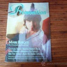 Revistas de música: REVISTA PREMONITION Nº 15 1993 POST PUNK GOTHIC ROCK ALTERNATIVO EN FRANCES. Lote 38796038
