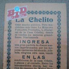 Revistas de música: REVISTA BID BOLETÍN INFORMATIVO DISCOPLAY AÑO 1988, NÚMERO 48. Lote 39204983
