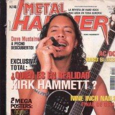 Revistas de música: METAL HAMMER Nº 148 , MANTIENE POSTER CENTRAL , AC/DC , SLIPKNOT. Lote 39217100