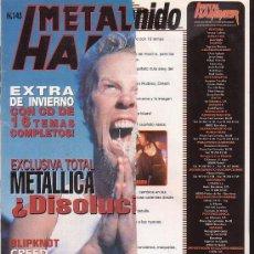 Revistas de música: METAL HAMMER Nº 145 , MANTIENE POSTER CENTRAL , MY RUIN, SLIPKNOT, DREAM THEATER. Lote 39217168