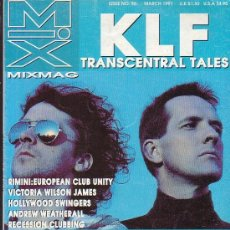 Revistas de música: MIXMAG MARCH 1991 - DANCE ARENA CLUB COUNTRY ( EDICION EN INGLES ). Lote 39234039