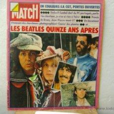 Revistas de música: THE BEATLES -REORTAGE EN PARIS MATCH LES BEATLES -QUINZE ANS APRES 28 JUIN 1975. Lote 39336812