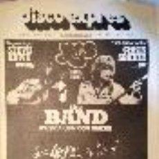 Revistas de música - DISCO EXPRES Nº 371 / 1976 THE BAND ZAPPA MOTHERS GENESIS YES WHO ÑU PATTI SMITH@ NUEVO Y COMPLETO - 39520987